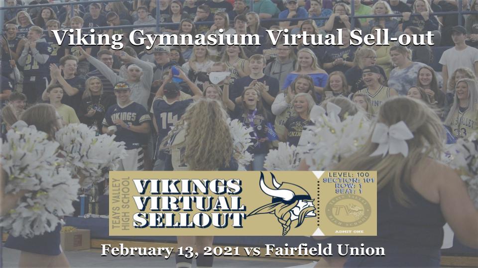 Viking Gymnasium Virtual Sell Out