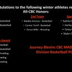 Winter CBC All-Conference Selections
