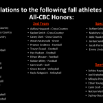 Fall CBC Award Winners
