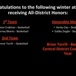 Winter All-District Selections