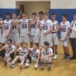 Keystone's 8th Grade Boys Basketball Team Finishes 16-0!