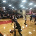 Boys varsity basketball falls to CCC.