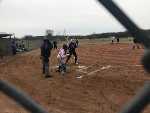 Varsity softball beats Brooklyn