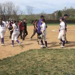 Varsity softball dominates Floyd Central