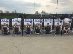 Varsity Track Senior Night!