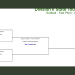 D II State Softball Bracket Information