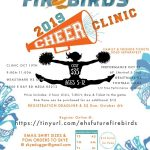 Future Firebirds Cheer Clinic!