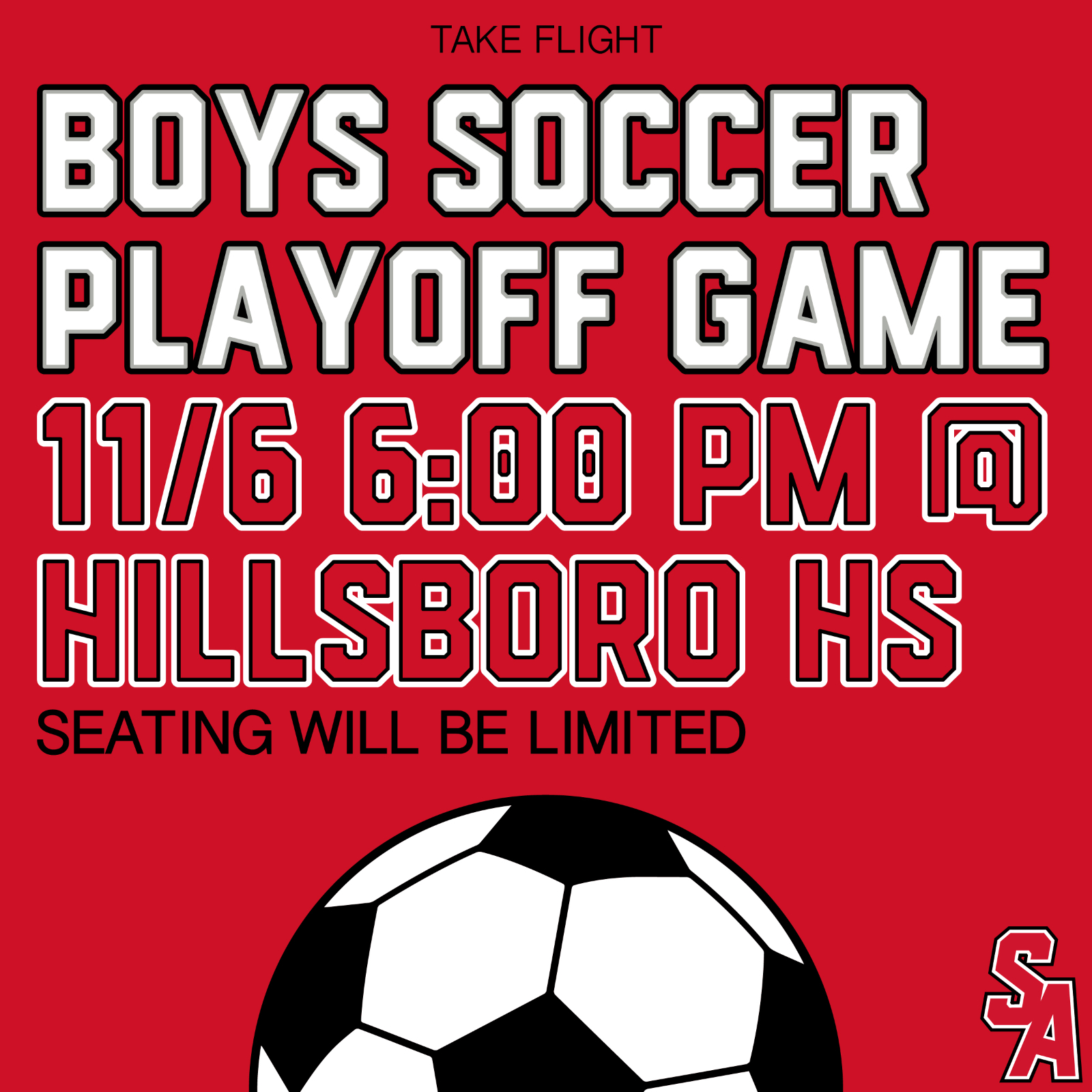 Boys Soccer First Round Playoff Game!!!!!