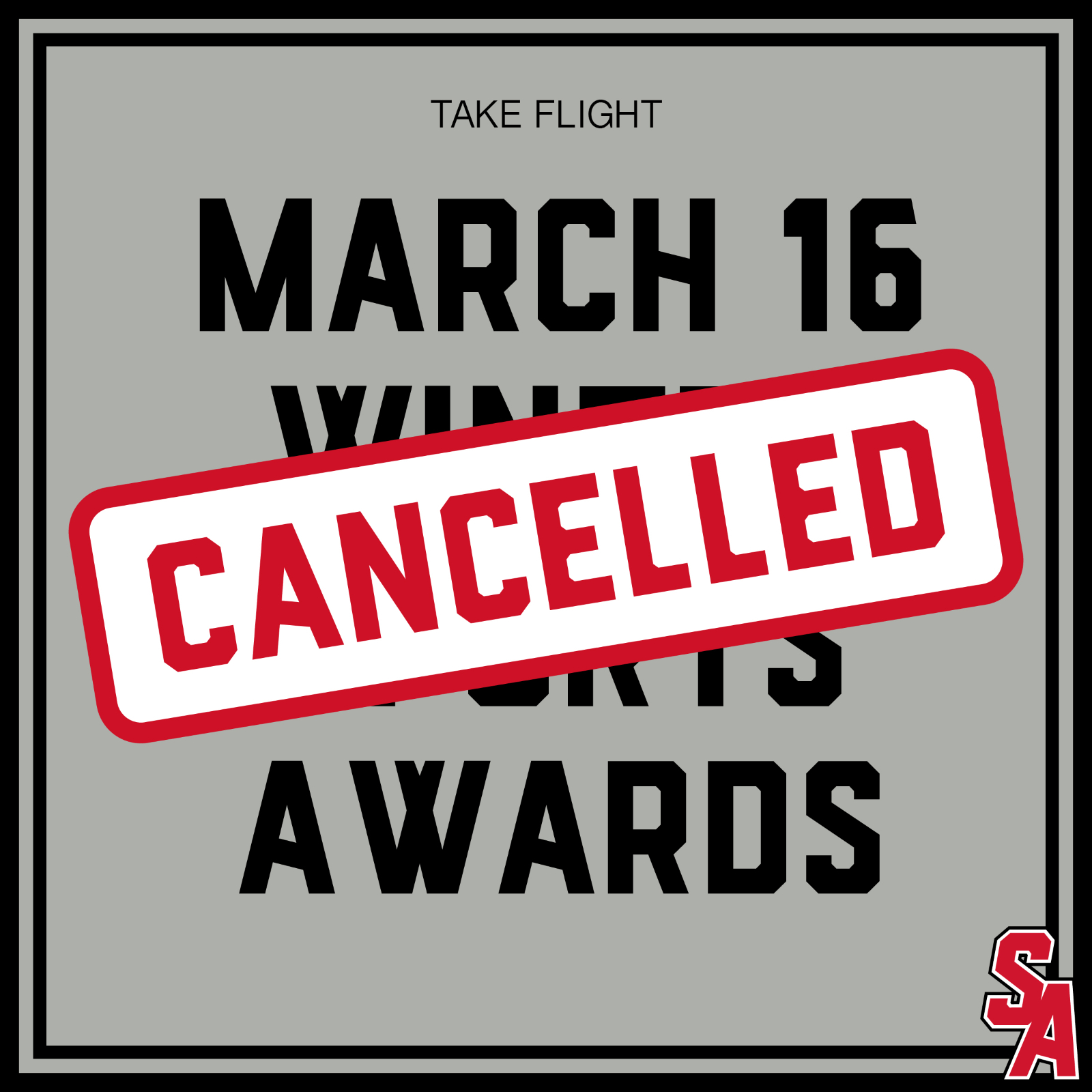 March 16 Winter Sports Awards Postponed