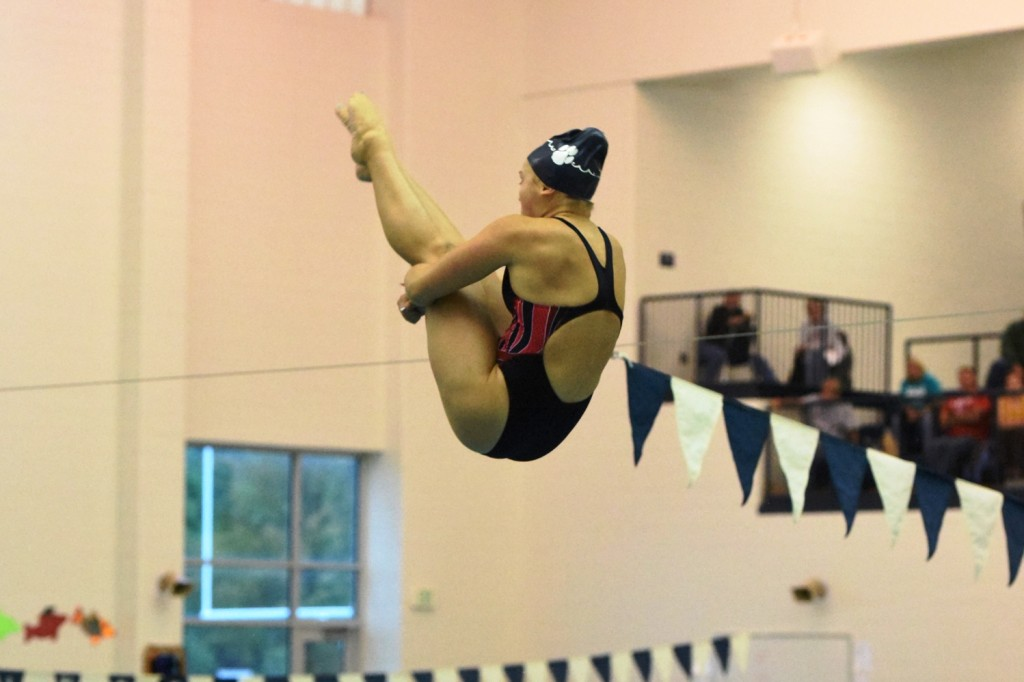 ROMAN LANDS SPOT AS TOP 20 DIVISION 1 STATE DIVER  & TIMES HERALD ATHLETE OF THE WEEK