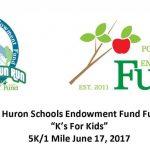 """""""K's for Kids"""" FUN RUN – Saturday, June 17, 2017"""