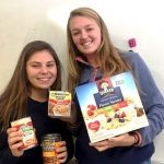 TWO NORTHERN STUDENT ATHLETES COLLECTING FOOD FOR STUDENTS IN NEED