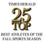 "SIX HUSKIES NAMED TO TIMES HERALD   ""BEST 25 ATHLETES OF THE FALL SPORTS SEASON"" LIST"