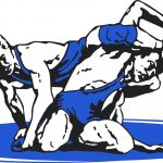 NORTHERN WRESTLERS CLINCH 2nd IN MAC BLUE