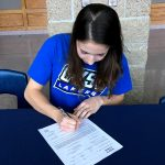 PHOTOS:  AVERY SHELL SIGNS TO GVSU POLE VAULT 4-27-18