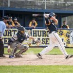 WALK-OFF HOMER BY MacLEAN DELIVERS WIN FOR HUSKIES