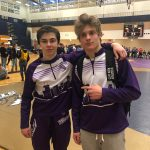 Ben Stites and Nick Flaskamp Secures State Wrestling Tournament Invite!