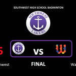 Badminton Gets Big Win Over Rival Washburn, Starts the Season 3-0! #southweststrong #lakerlegacy