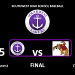 BASEBALL WIN OPENER! #SouthwestStrong #LakerNation