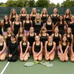 Girls Junior Varsity Tennis Team