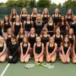 Girls Junior Varsity Tennis Team