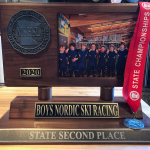 Boys Nordic Places 2nd at STATE!