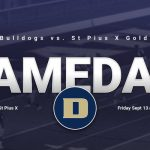 Bulldogs Football at St Pius X Sept 13