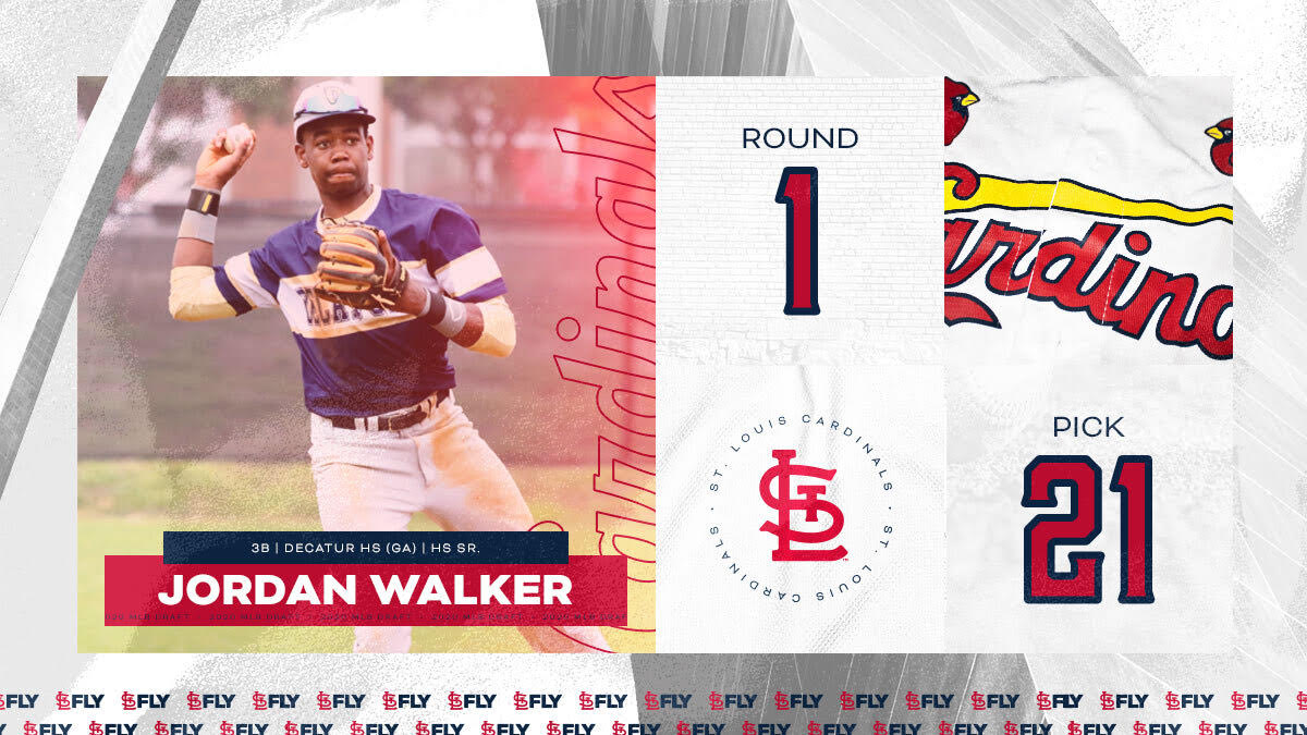 Jordan Walker, DHS Student-Athlete, Selected in the First Round of MLB Draft