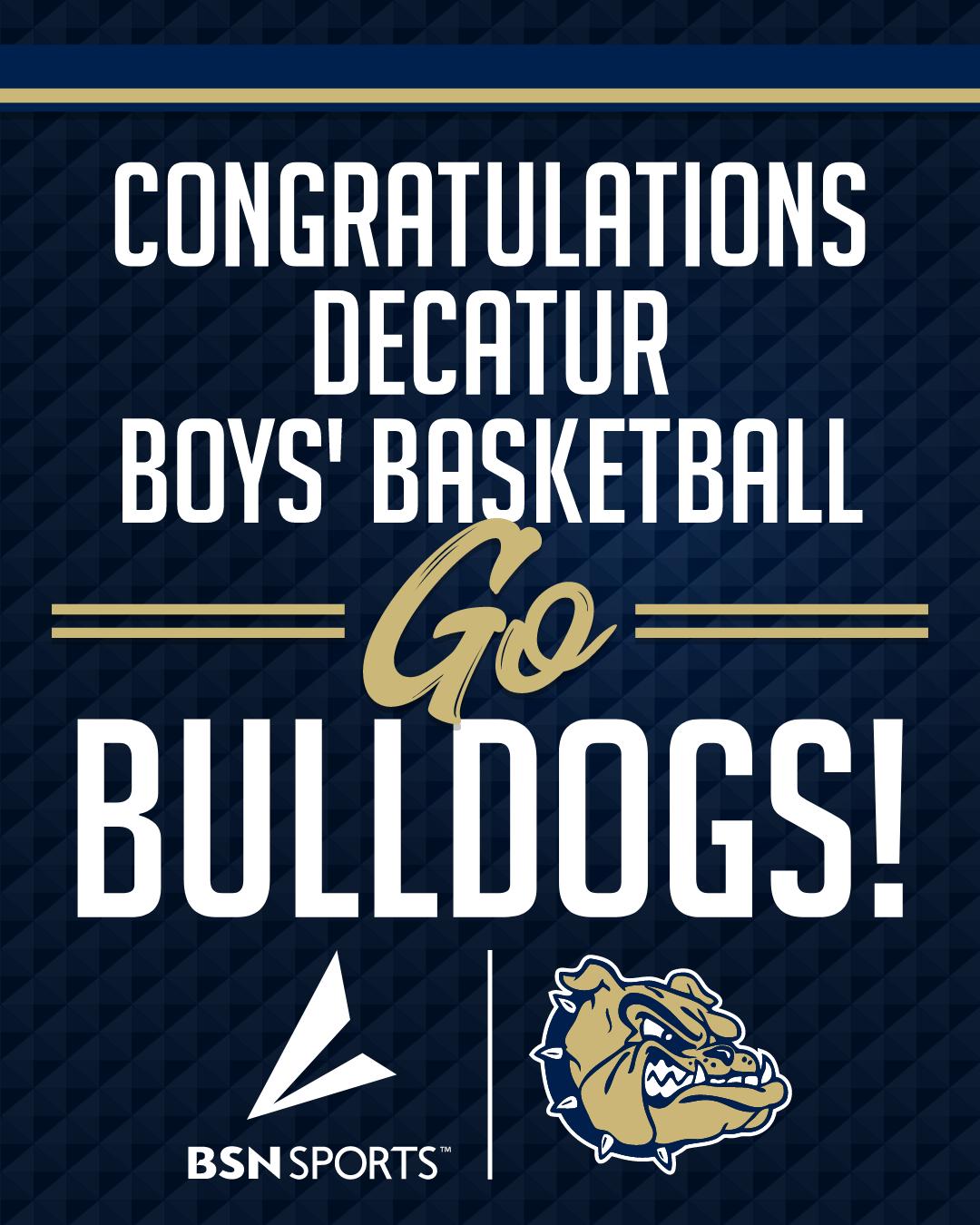 Bulldog Boys Basketball advance to the 2nd Round!!!