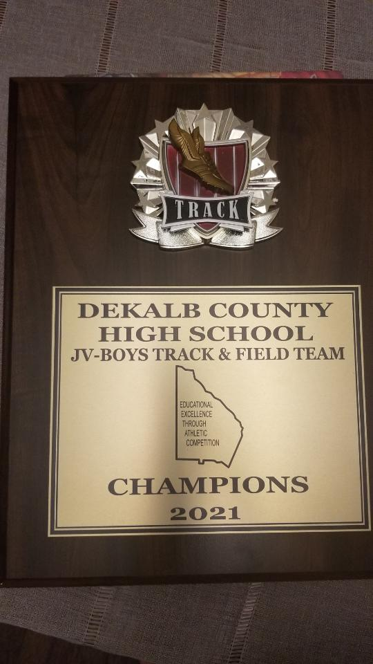 Track performance at the JV Dekalb County Championships