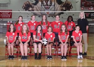 SMS 7th grade volleyball team