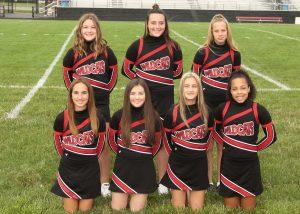 SMS 7th grade football cheerleaders