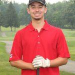 Senior golfer Brandon Breznai
