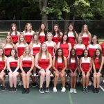 2018 Girls tennis team
