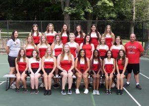 2018 Girls tennis team