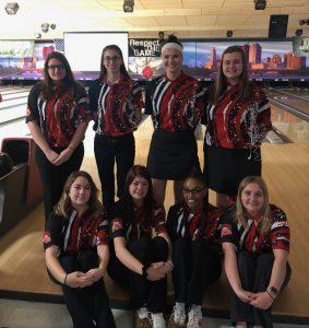 Girls State Bowling team