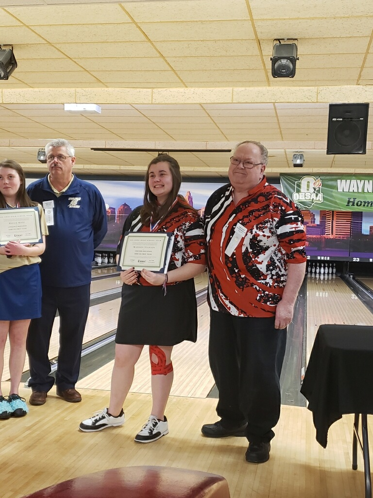 Madison Stanton Named Bowling State Champion
