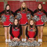 SMS Basketball Cheerleaders