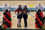 LadyCats Varsity Bowlers lose home opener. Seniors Honored