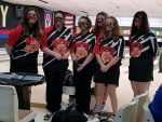 LadyCat Varsity Bowlers Advance to DIstricts with 4th Place Sectional FInish