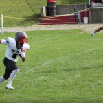 Junior Varsity Football beats Pandora-Gilboa 14 – 0