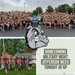 Homecoming & Military Appreciation Night as the Bulldogs battle Delphos