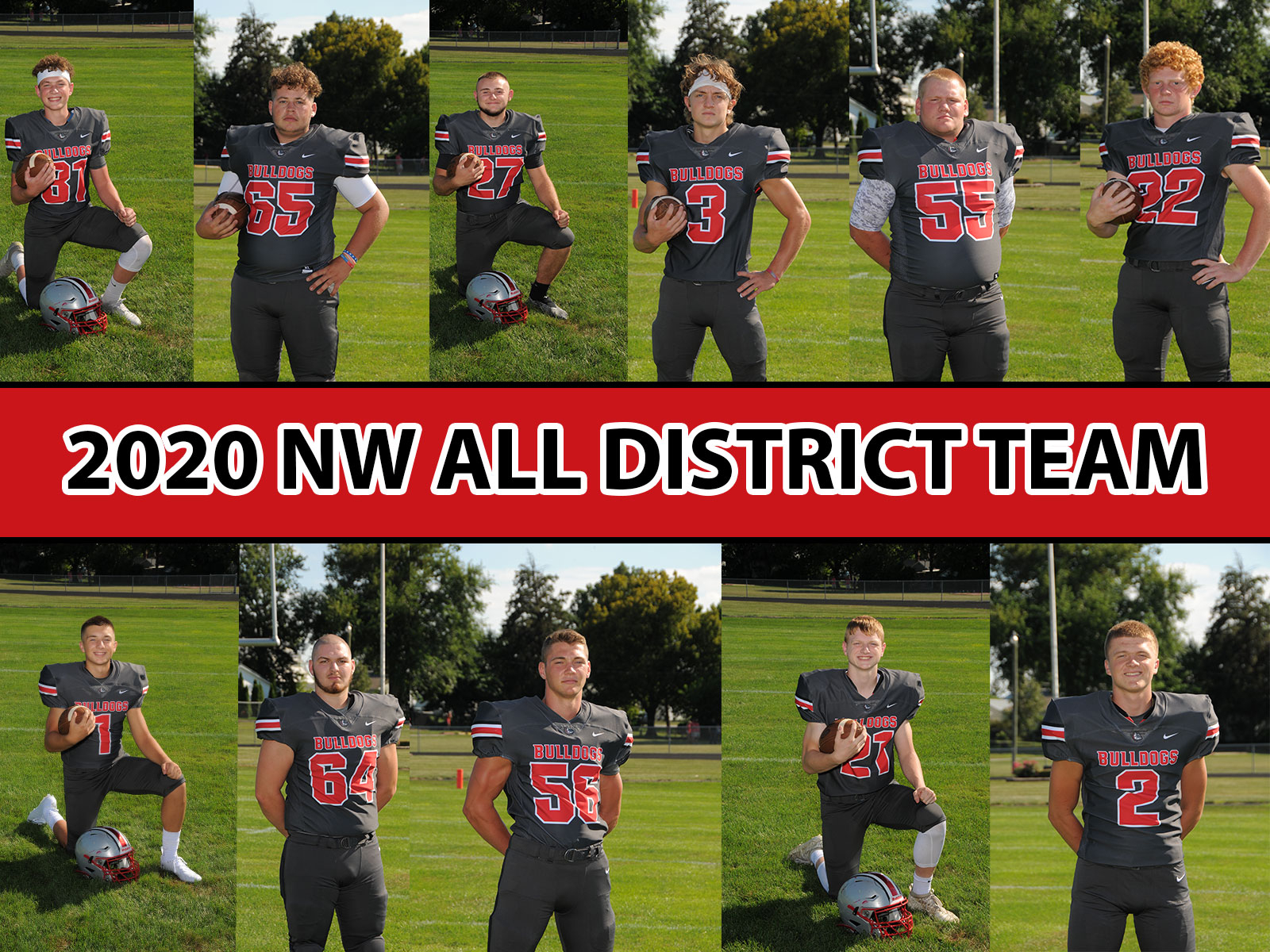 Bulldogs earn Northwest District Honors