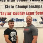 Garett McDonald placed 3rd at State in Powerlifting