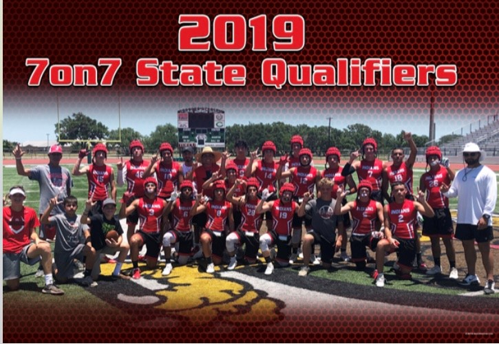 Indians have Great Showing at State 7 on 7