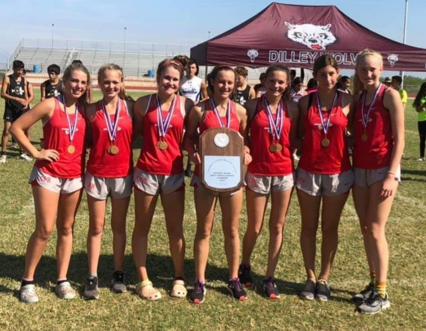Cross Country: Girls Varsity & JV Bring home the District Championship