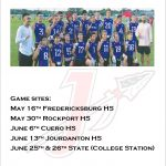 2020 Jourdanton 7 on 7 Schedule
