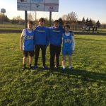 Boys Junior High Track finishes 3rd place at Antwerp Invite