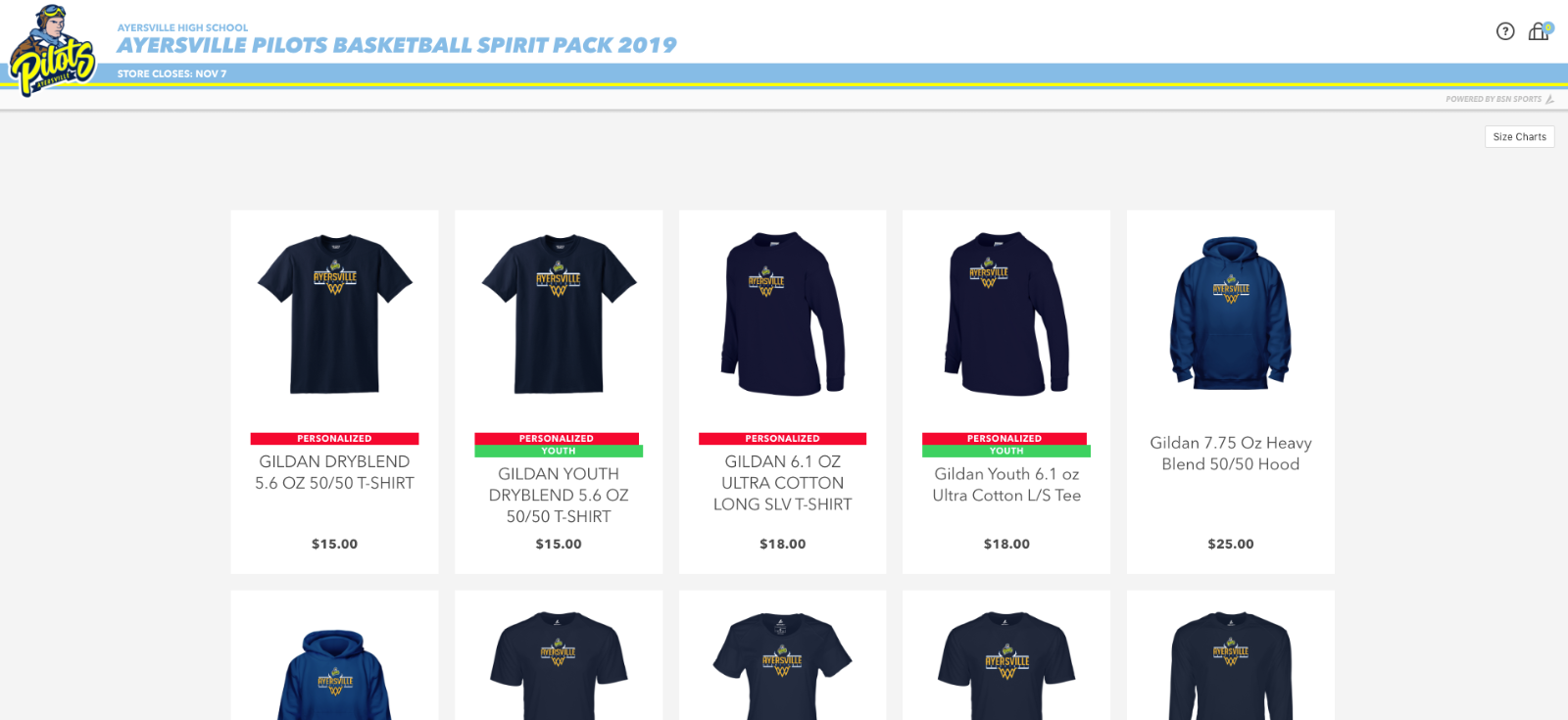 Basketball Spirit Pack