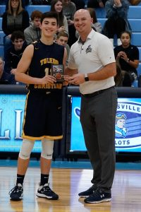 Boys Holiday Tournament Awards